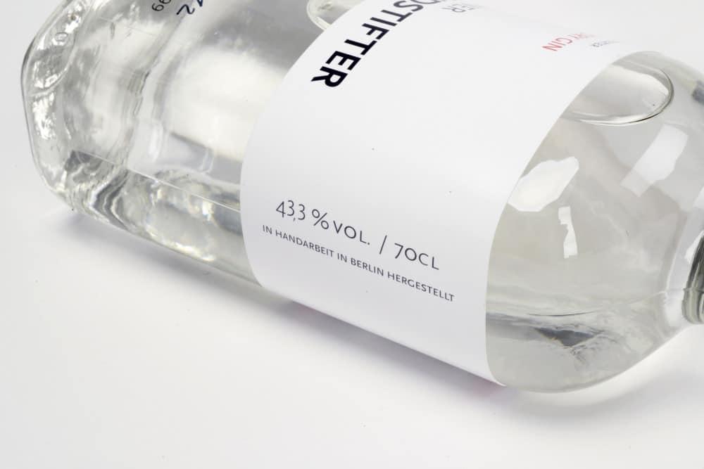 Berliner Brandstifter mit Premium Dry Gin
