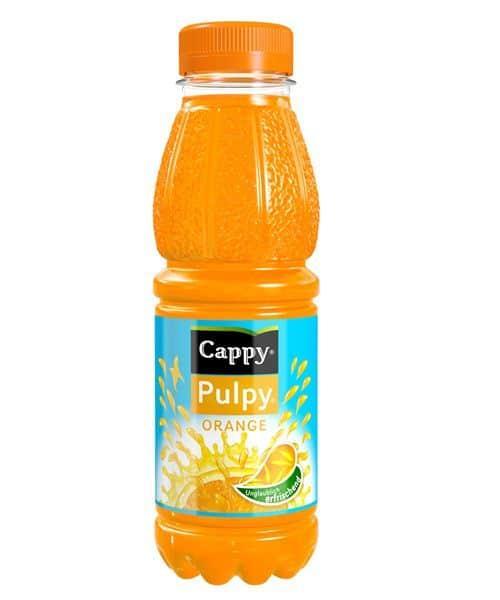 Der neue Orangensaft von Coca Cola: Cappy Pulpa
