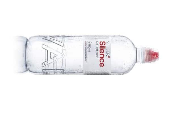 Valser Silence: Neu in der trendigen 750ml-PET-Flasche mit Sportverschluss
