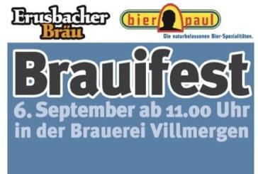 15. Erusbacher Brauifest am 06.09.2014