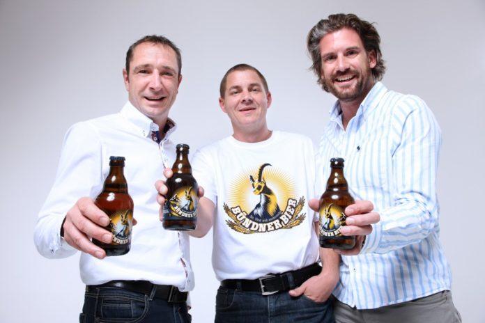 Das neue Bier von Bündnern für Bündner