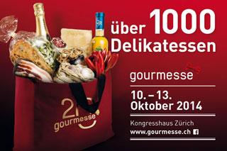 Vom 10.-13. Oktober 2014 findet in Zürich die Gourmesse statt
