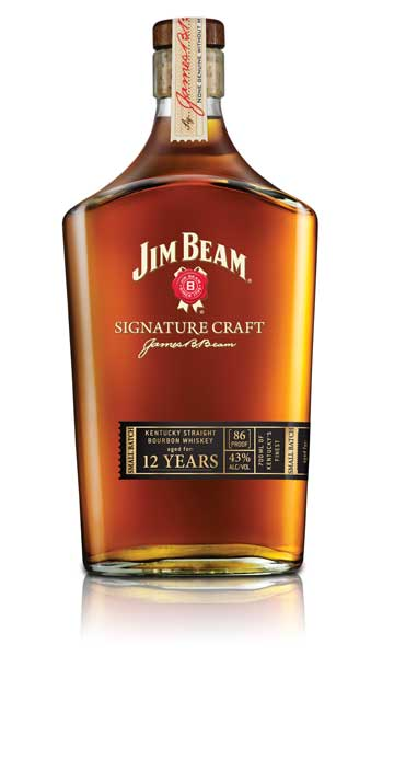 Jim Beam Signature Craft 12 Years in neuem Design