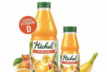 Neu: Michel Sunshine – die fruchtige Vitamin D-Quelle
