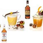 Winterliche Cocktails von Jim Beim und der Barschule München