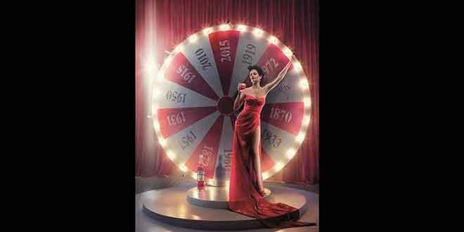 Campari Kalender 2015: Eva Green auf Zeitreise