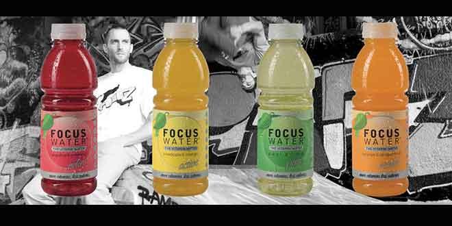 Focus Water - das Vitaminwasser in 4 verschiedenen Sorten