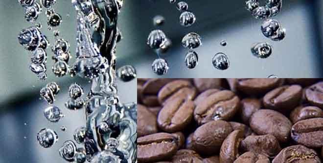 Die Qualität des Wasser beeinflusst den Geschmack des Kaffees