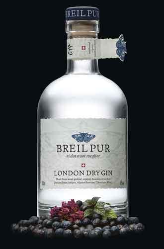Breil Pur: Aussergewöhnlicher Gin in aussergewöhnlicher Flasche