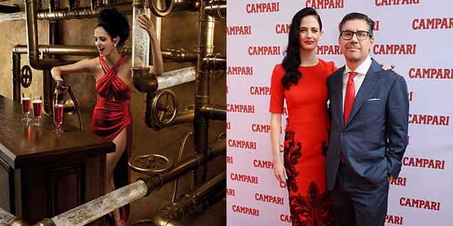 Campari präsentiert Kalender 2015 mit Eva Green