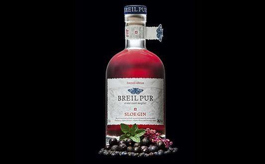 Breil Pur Sloe Gin:100% biologisch, 100% schweizerisch