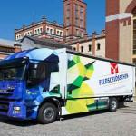 Zurich Klimapreis 2014: Feldschlösschen mit 18-Tonnen-Elektro-LKW zweiter Sieger des Klimapreises 2014