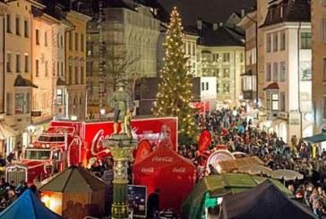 Der Coca-Cola Weihnachtstruck tourt durch die Schweiz