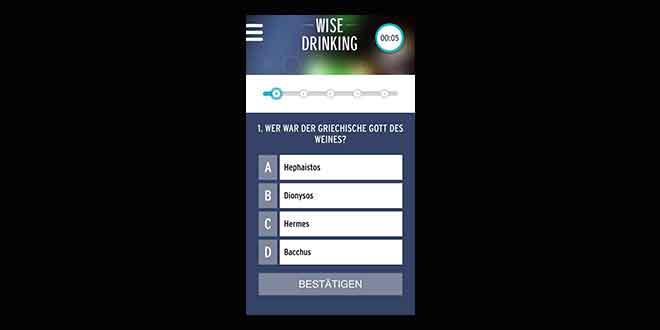 """Pernod Ricard """"Wise Drinking App"""" jetzt mit neuer Quizfunktion"""