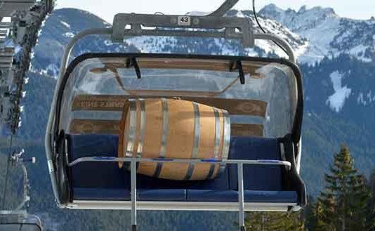 Start für die SLYRS Whisky Mountain Edition