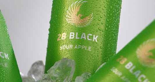 28 BLACK Sour Cherry und 28 BLACK Sour Apple