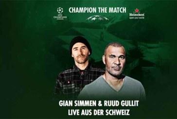 #ChampionTheMatch Session mit Ruud Gullit und Gian Simmen in Davos