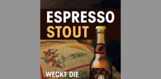 Die Basler Brauerei Unser Bier lanciert Espressostout