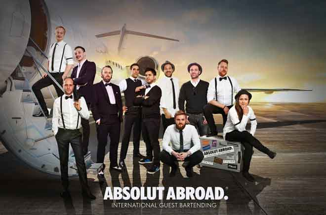 Absolut Abroad: Internationale Barkultur auf höchstem Niveau