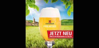 Feldschlösschen bringt den Frühling in die Schweizer Lokale