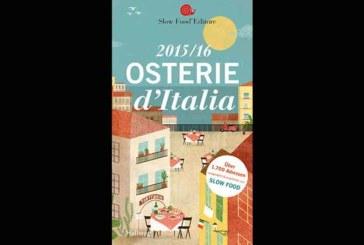 Buch Tipp: Osterie d' Italia 2015/16 – ein Muss für Italienfans