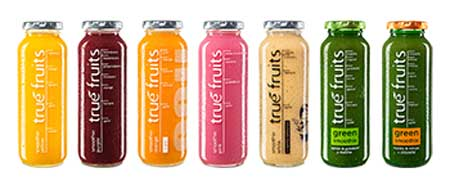 Produktepalette true fruits