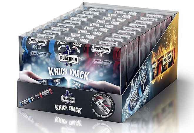 """Puschkin """"Knick-Knack"""": neue Innovation für mehr die Partyspass"""