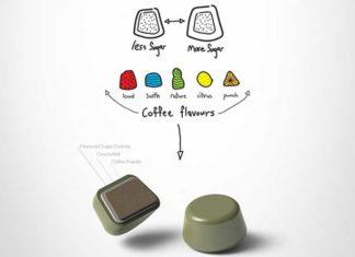 """""""Droops""""-Kaffeekapseln lösen sich in Wasser auf"""