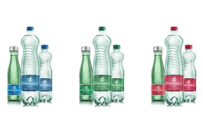 Römerquelle: Facelifting für österreichische Mineralwasser Traditionsmarke
