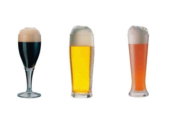 Bierfarbe: Ob blond, ob braun - Das Malz macht's!