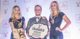 The Curtain Club in Berlin erhält den Glenfiddich Award für Barkultur