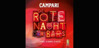 "Campari ""Rote Nacht der Bars"" 2015: angesagte Drinks - coole Sounds"