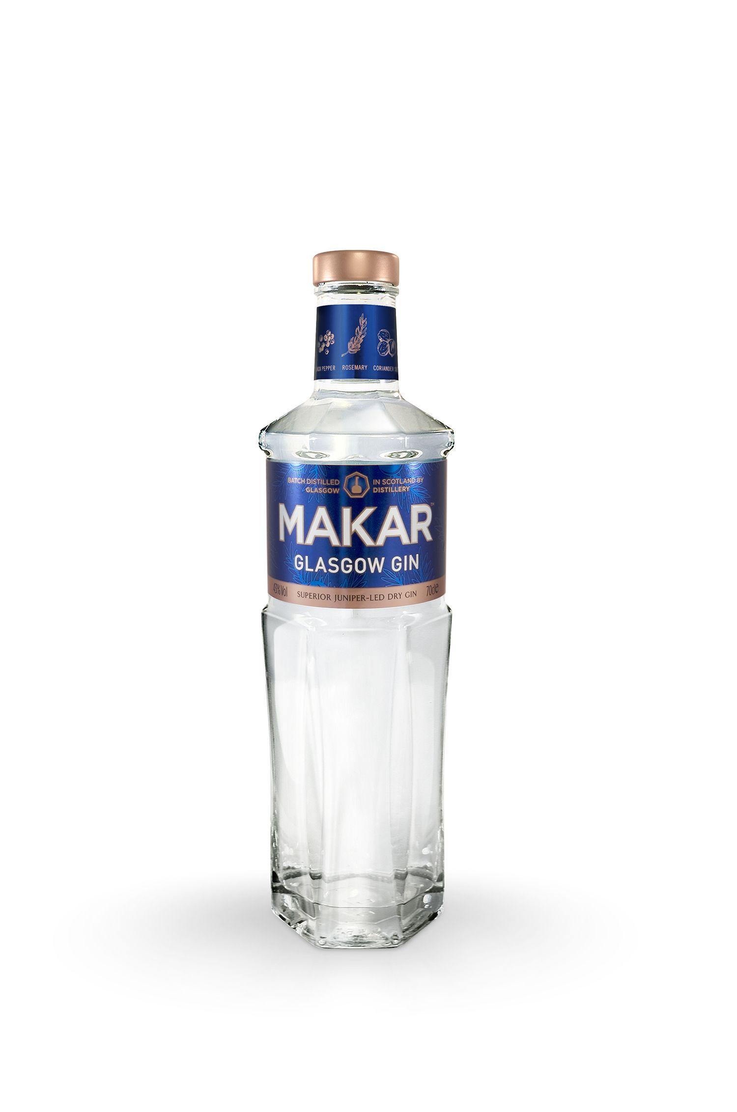 A Wee Taste of Scotland übernimmt Vertrieb von  Makar Glasgow Gin!