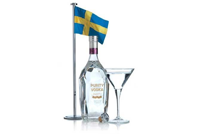 Schallmauer durchbrochen: 100. internationale Goldmedaille für Purity Vodka aus Schweden