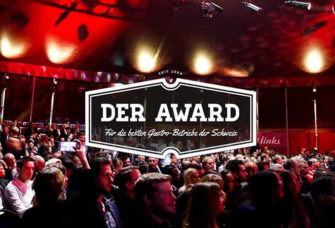 Best of Swiss Gastro Award Night wird live übertragen