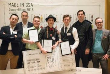 """Mehr Heimat an der Bar! Alexander Mayer aus Freiburg gewinnt """"Made in GSA"""" Cocktail Competition"""