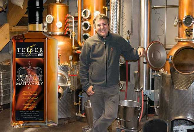 Interview mit Marcel Telser: Inhaber und Master Distiller der Telser Distillery in Triesen (Lie)