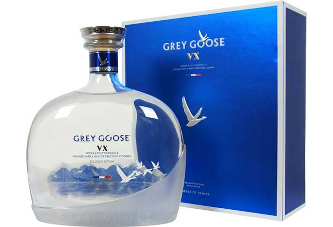 Grey Goose VX: Eine außergewöhnliche Kreation aus den feinsten Zutaten