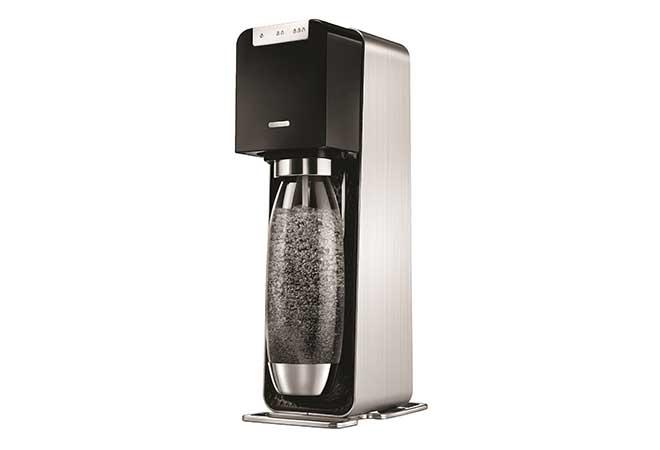 SodaStream Power: Wassersprudeln auf Knopfdruck