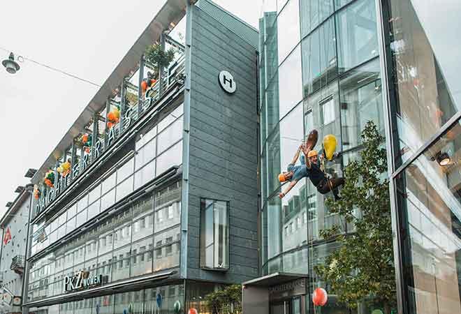 Gesunder Genuss über den Dächern Zürichs - Hiltl zieht's nach oben!
