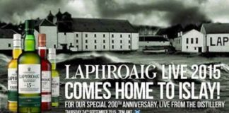 Laphroaig Live 2015 – Virtuelles Tasting am 24. September
