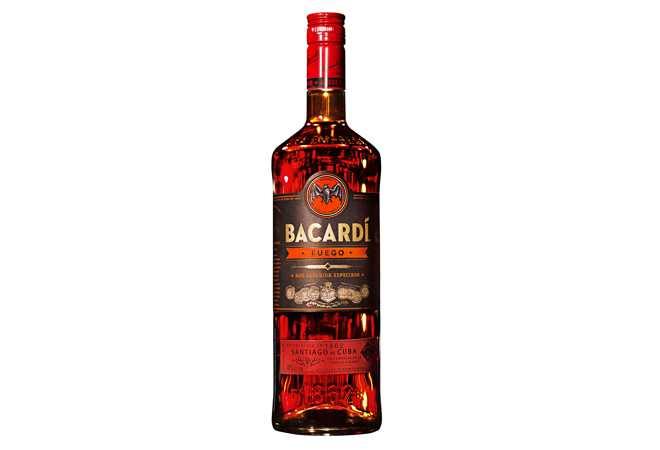 BACARDÍ lanciert mit Carta Fuego ersten «spiced» Rum Shot