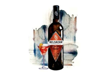 BELSAZAR Vermouth launcht erstmalig Vintage Rosé
