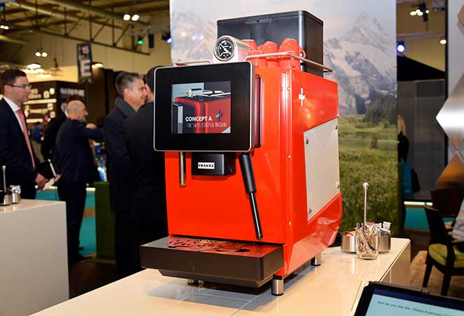 Franke – Mit innovativen Kaffeemaschinen zum Erfolg