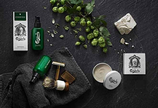 Carlsberg erweitert seine Bier Beauty Produktlinie
