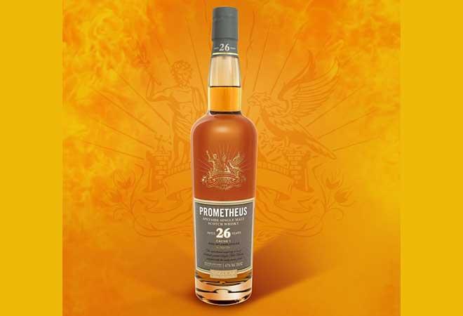 Prometheus 26 Years Single Malt Whisky mit Gold ausgezeichnet!