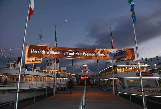 EXPOVINA Zürich 2015: 4000 Weine auf 12 Schiffen