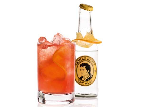 Parma Negroni Cocktail