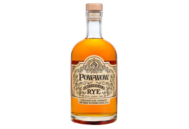 Pow-wow Botanical Rye Whiskey: Whiskey meets Gin
