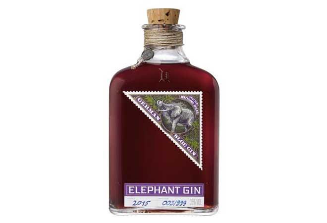 Elephant Gin stellt Sloe Gin vor